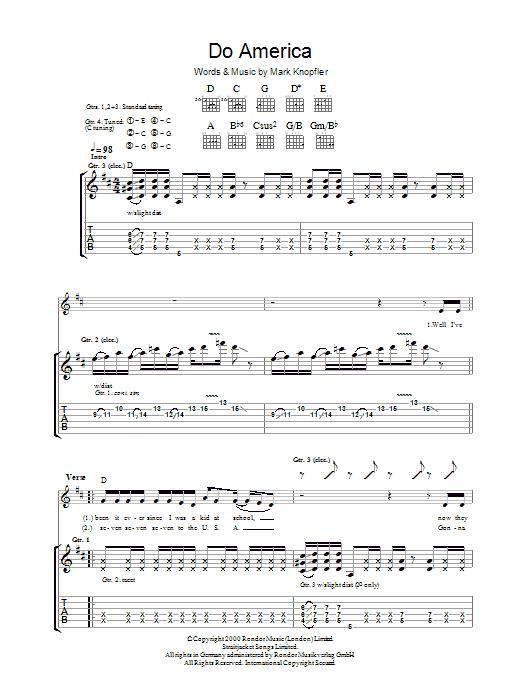 Do America (Guitar Tab)