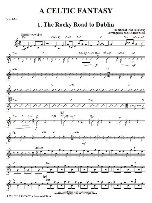 A Celtic Fantasy - Guitar Sheet Music