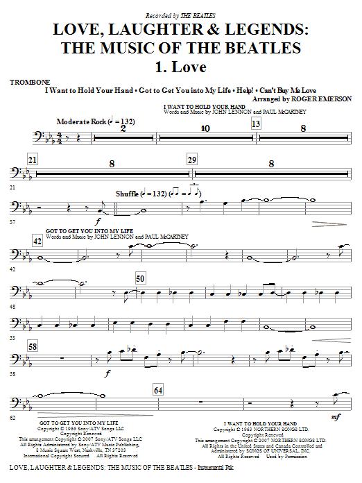 Love, Laughter & Legends - Trombone Sheet Music