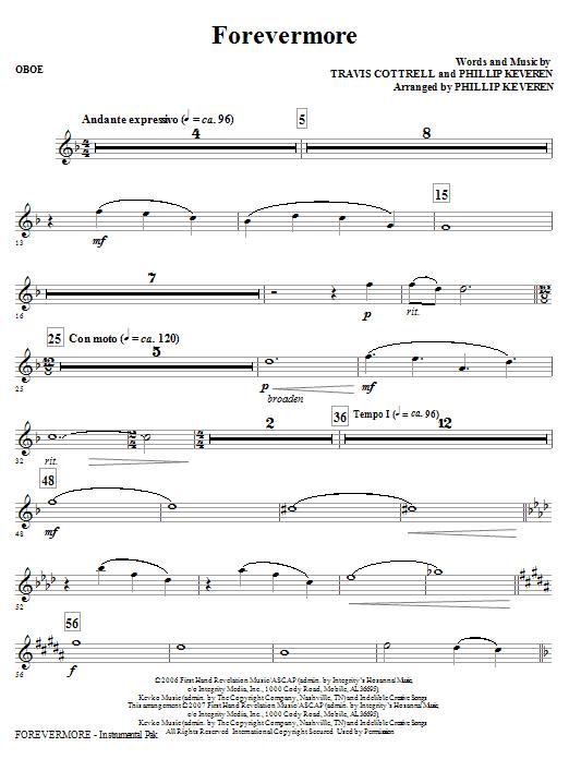 Forevermore - Oboe (Choir Instrumental Pak)
