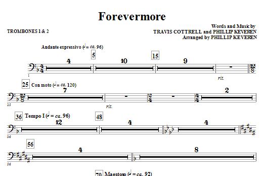 Forevermore - Trombone 1, 2 (Choir Instrumental Pak)
