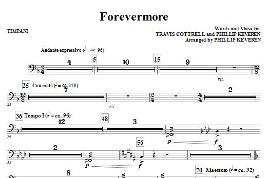 Forevermore - Timpani (Choir Instrumental Pak)
