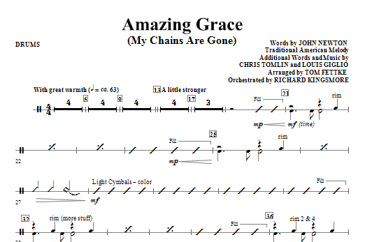 Amazing Grace (My Chains Are Gone) - Tuba by Chris Tomlin, John ...