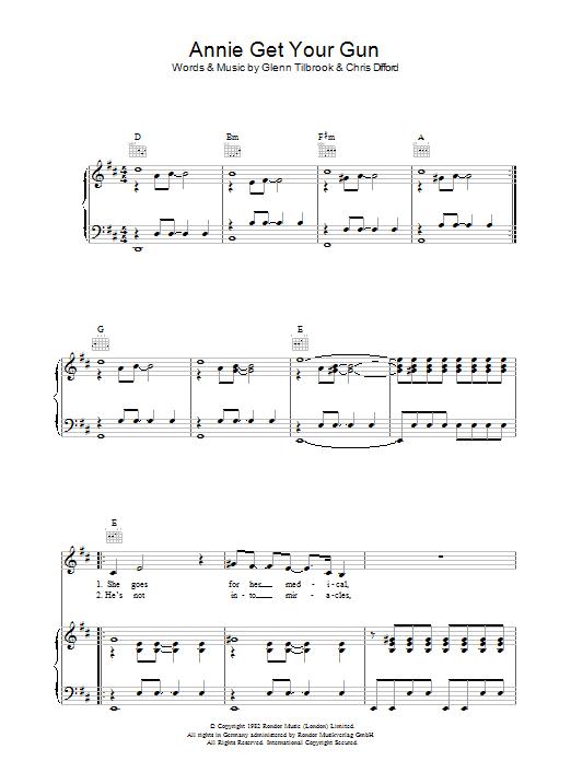 Annie Get Your Gun (Piano, Vocal & Guitar)