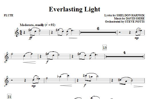 Everlasting Light - Flute Sheet Music