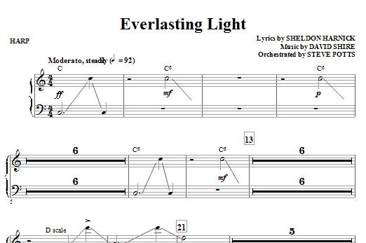 Everlasting Light - Harp Sheet Music