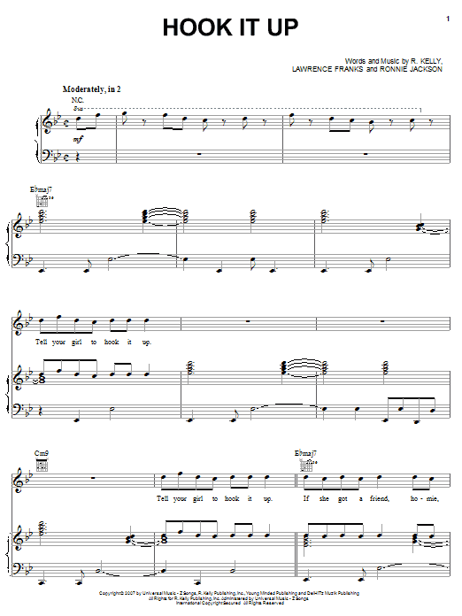 Hook It Up Sheet Music