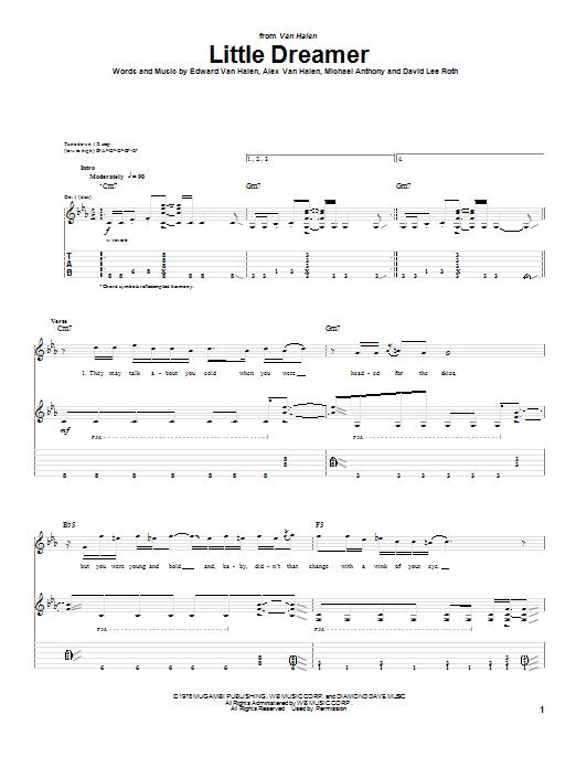 Little Dreamer (Guitar Tab)