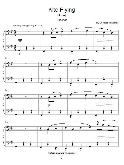 Kite Flying (June) Sheet Music