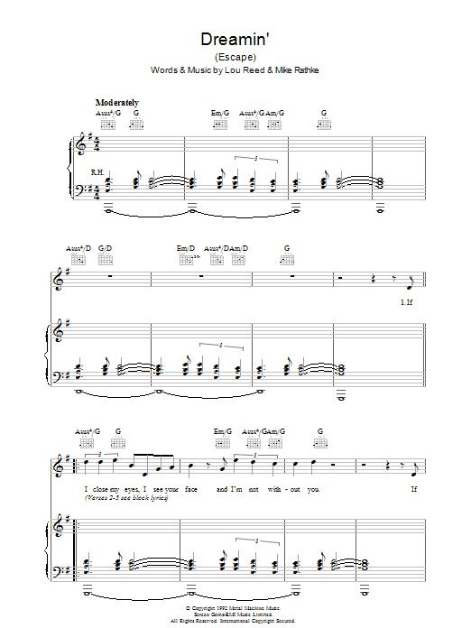 Dreamin' (Piano, Vocal & Guitar)