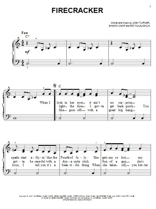 Firecracker (Easy Piano)
