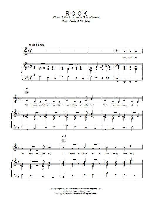 ROCK (Piano, Vocal & Guitar)