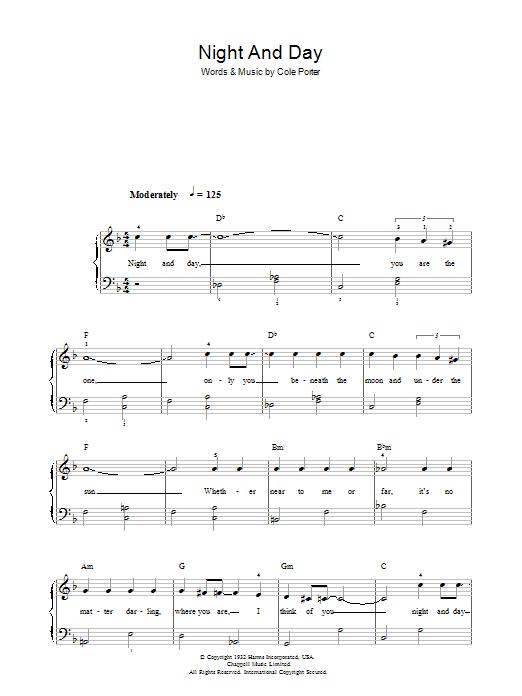 Night And Day Sheet Music