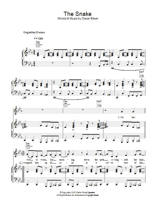 The Snake Sheet Music