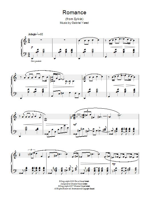 Romance (from Sylvia) Sheet Music