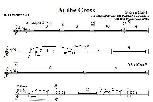 At The Cross - Bb Trumpet 2,3 (Choir Instrumental Pak)