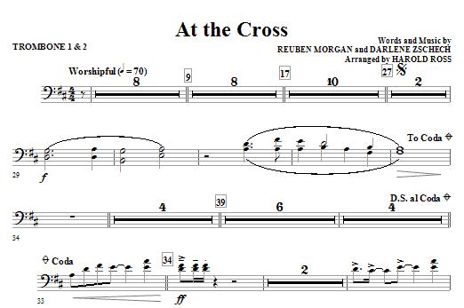 At The Cross - Trombone 1 & 2 (Choir Instrumental Pak)