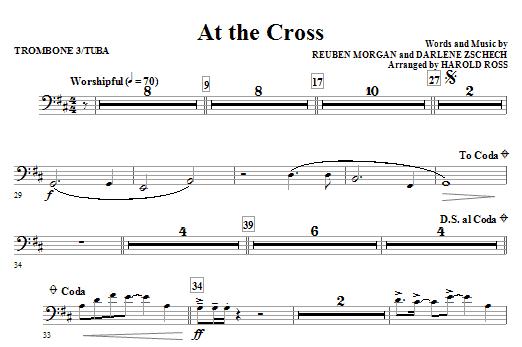 At The Cross - Trombone 3/Tuba (Choir Instrumental Pak)