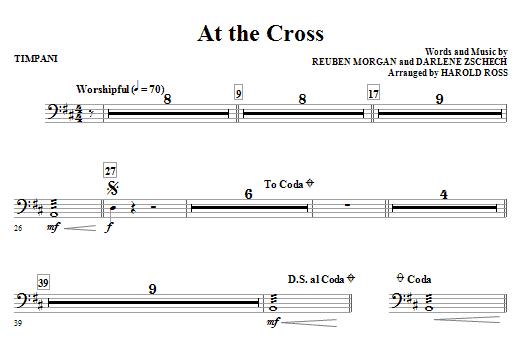 At The Cross - Timpani (Choir Instrumental Pak)