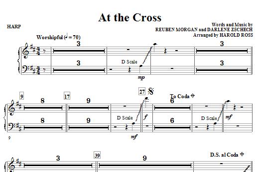 At The Cross - Harp (Choir Instrumental Pak)