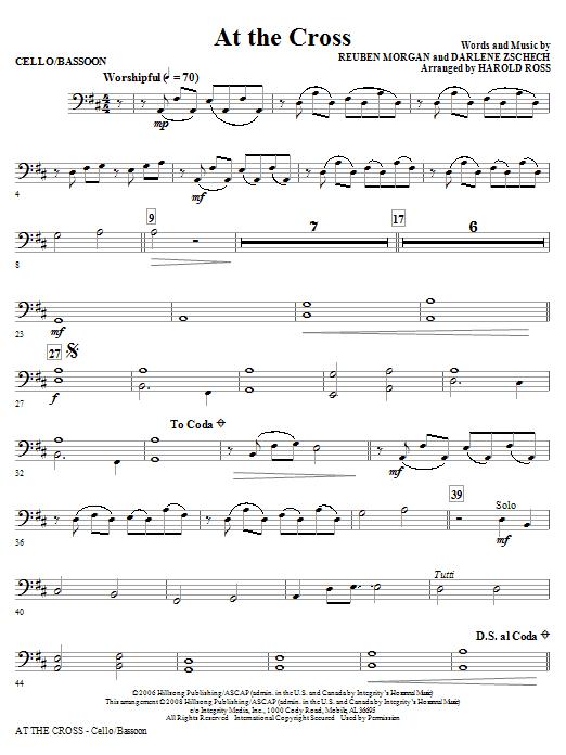 At The Cross - Cello/Bassoon (Choir Instrumental Pak)