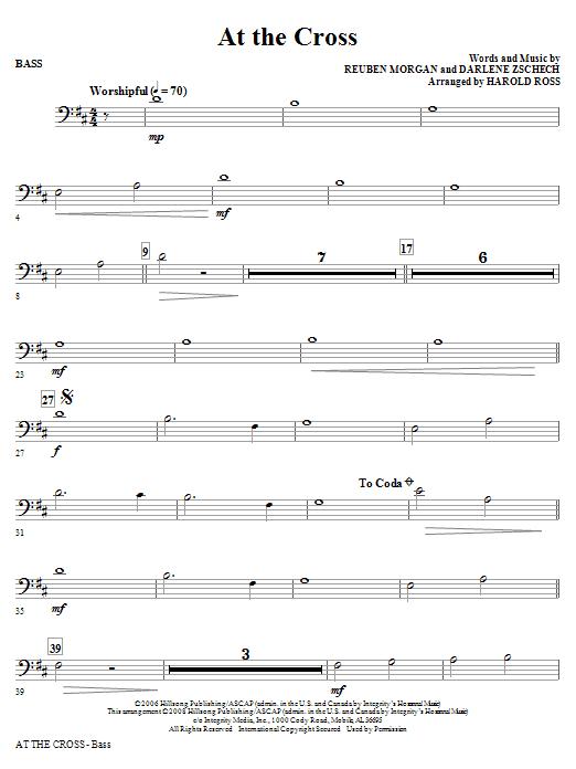 At The Cross - String Bass (Choir Instrumental Pak)