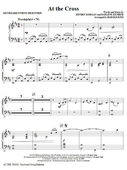 At The Cross - Keyboard String Reduction (Choir Instrumental Pak)