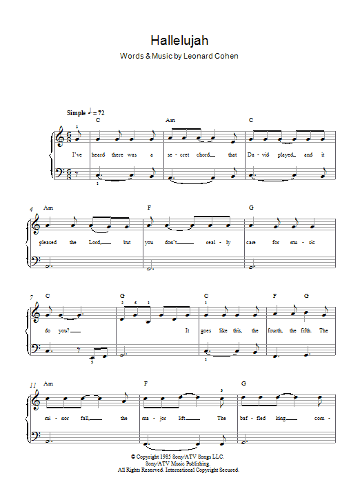 Hallelujah Chords Rufus Wainwright Choice Image Chord Guitar
