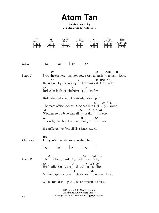 Atom Tan Sheet Music