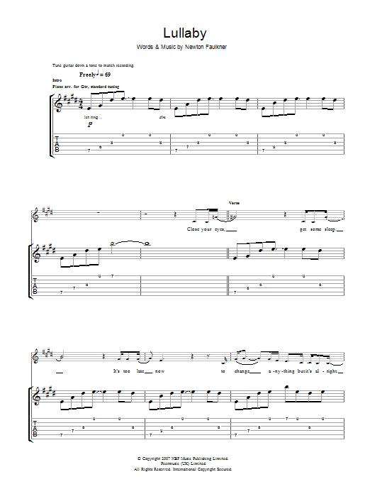 Lullaby (Guitar Tab)