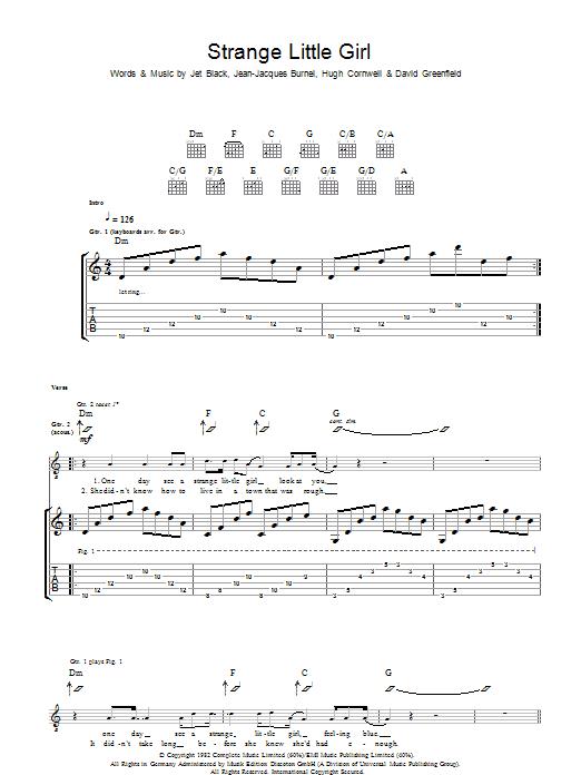 Strange Little Girl (Guitar Tab)