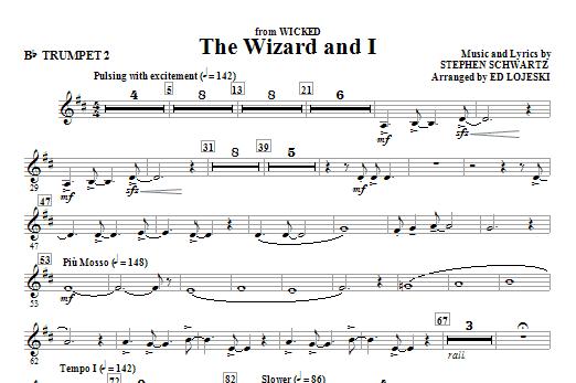 The Wizard And I - Bb Trumpet 2 (Choir Instrumental Pak)