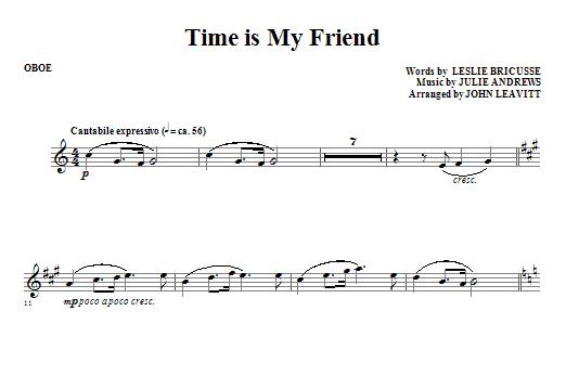 Time Is My Friend - Oboe (Choir Instrumental Pak)