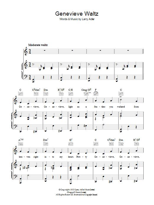 Genevieve Waltz (Piano, Vocal & Guitar)