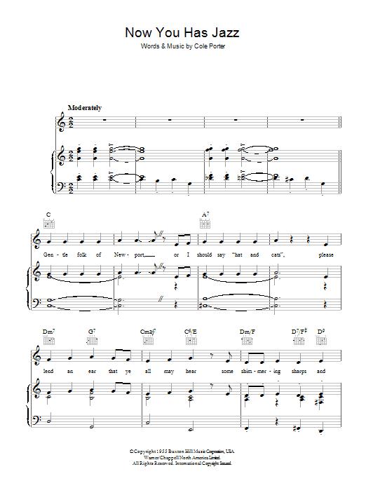 Now You Has Jazz (Piano, Vocal & Guitar)