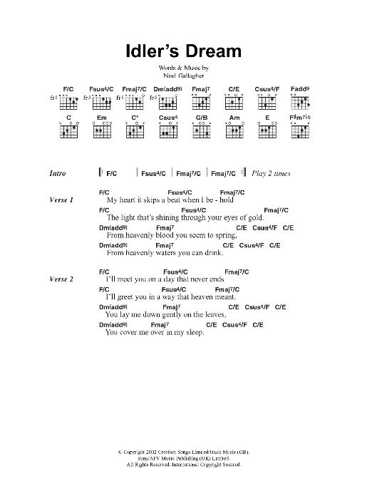 Idler's Dream Sheet Music