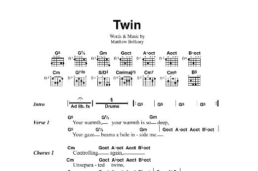 Twin Sheet Music