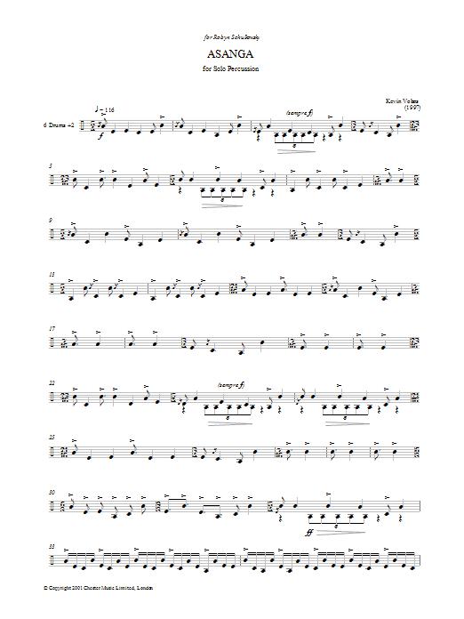 Asanga Sheet Music