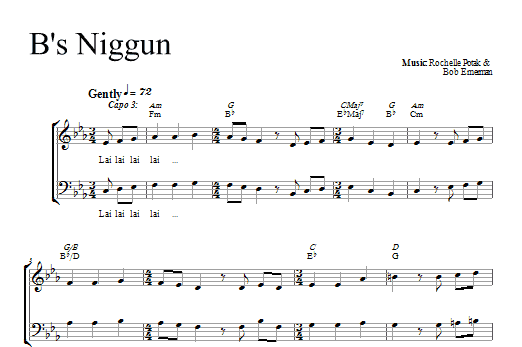B's Nign Sheet Music