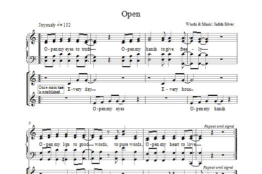Open Sheet Music