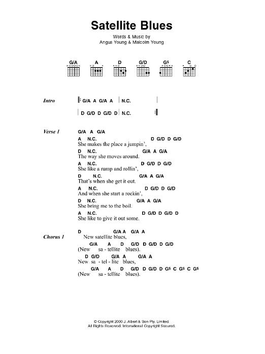 Satellite Blues Sheet Music