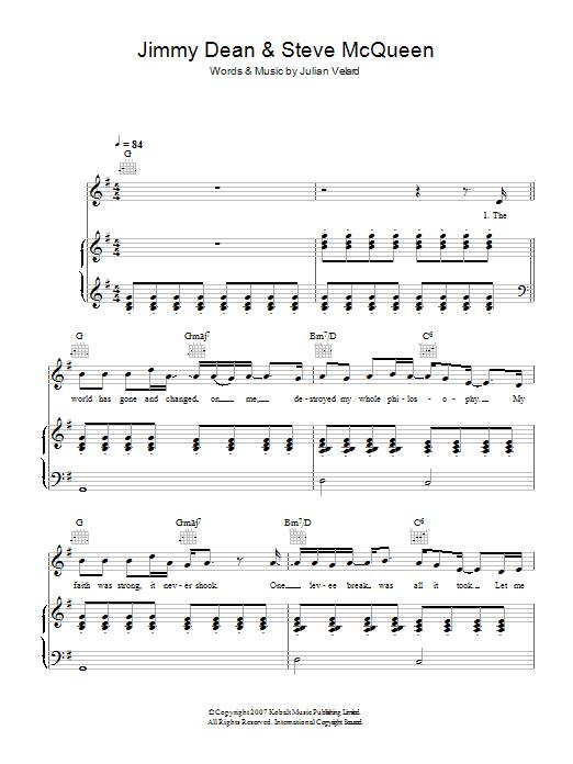 Jimmy Dean & Steve McQueen (Piano, Vocal & Guitar)