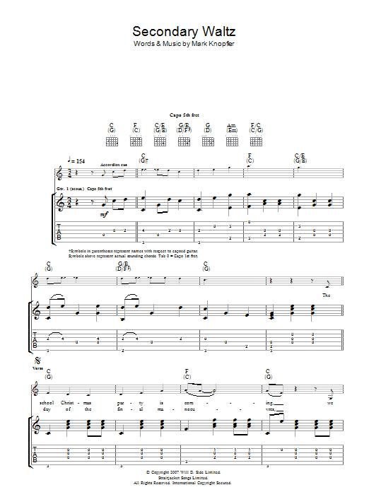 Secondary Waltz Sheet Music