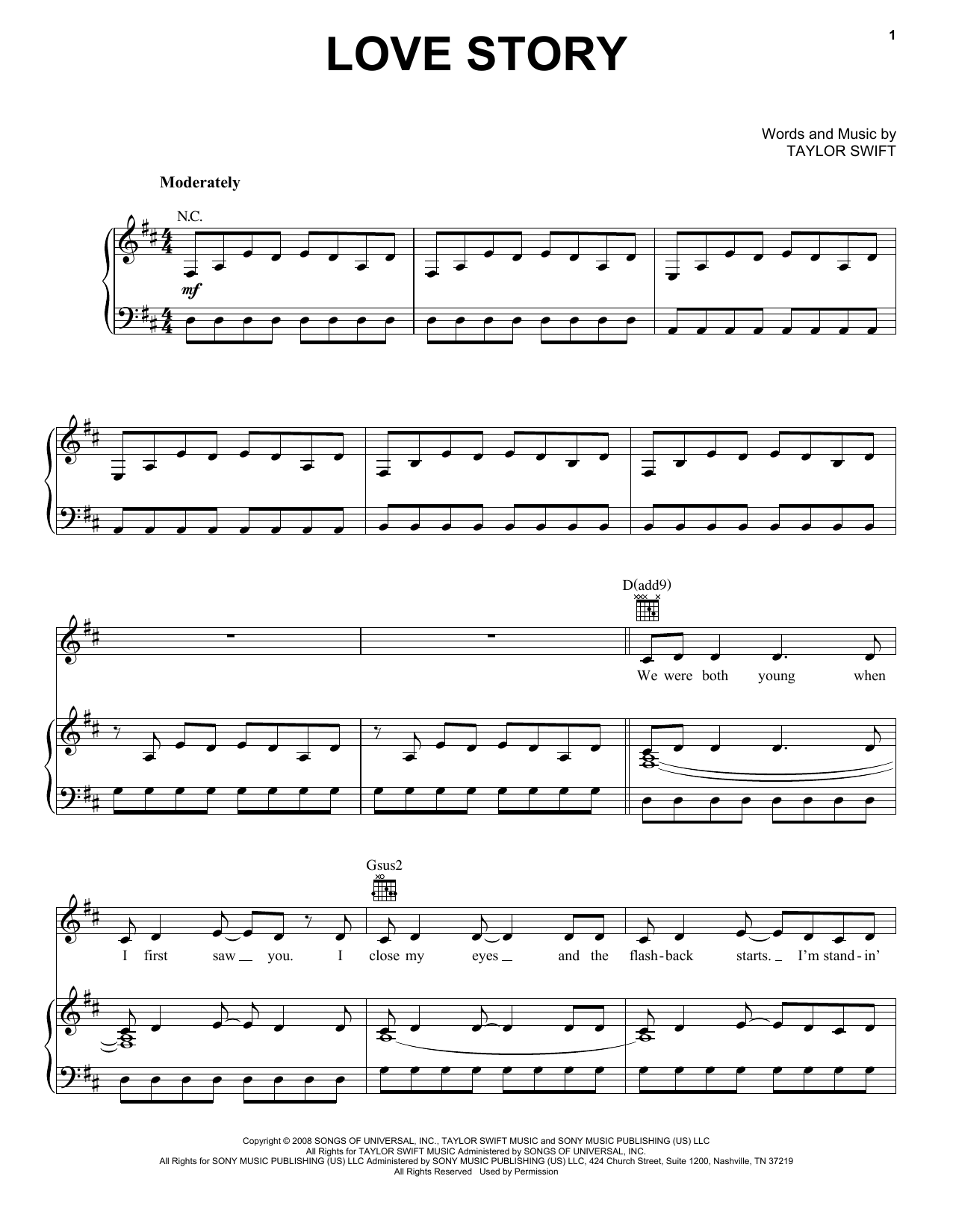 Taylor Swift Fearless Sheet Music By No Composer Hal Leonard