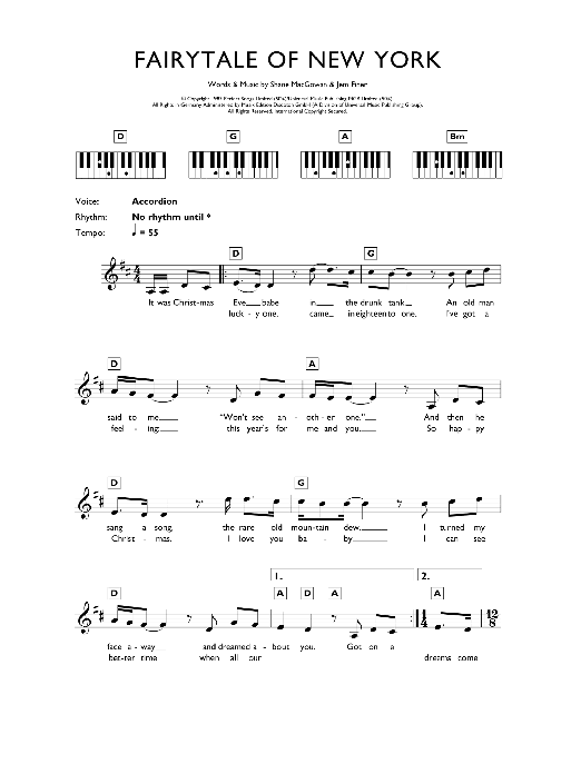 Silent night lyrics chords