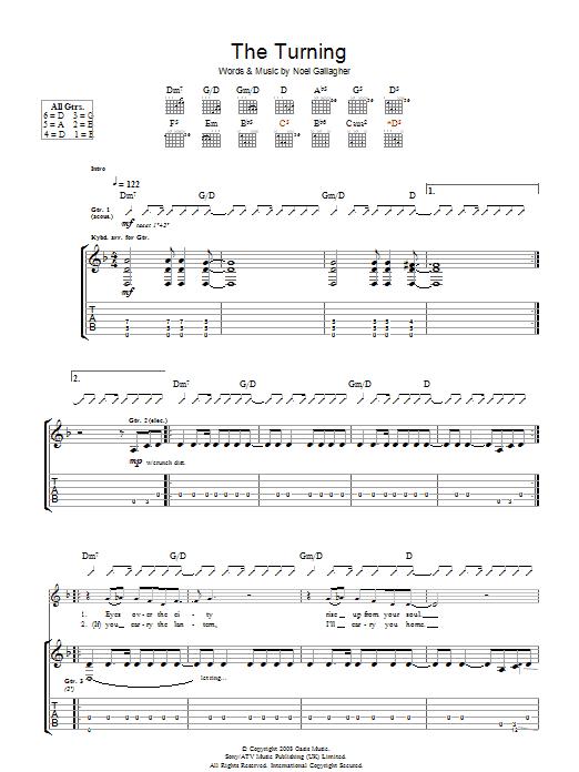 The Turning (Guitar Tab)