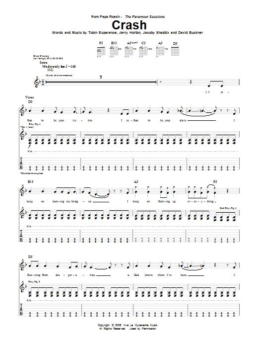 Crash Sheet Music