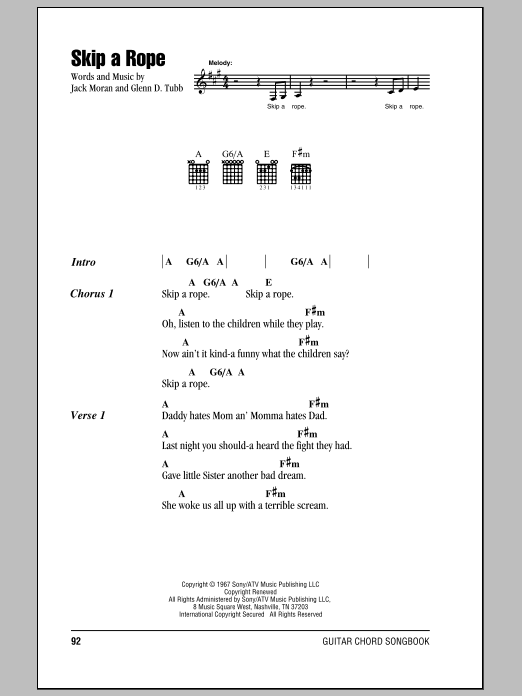 Skip A Rope Sheet Music