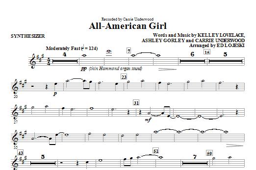All-American Girl - Synthesizer (Choir Instrumental Pak)