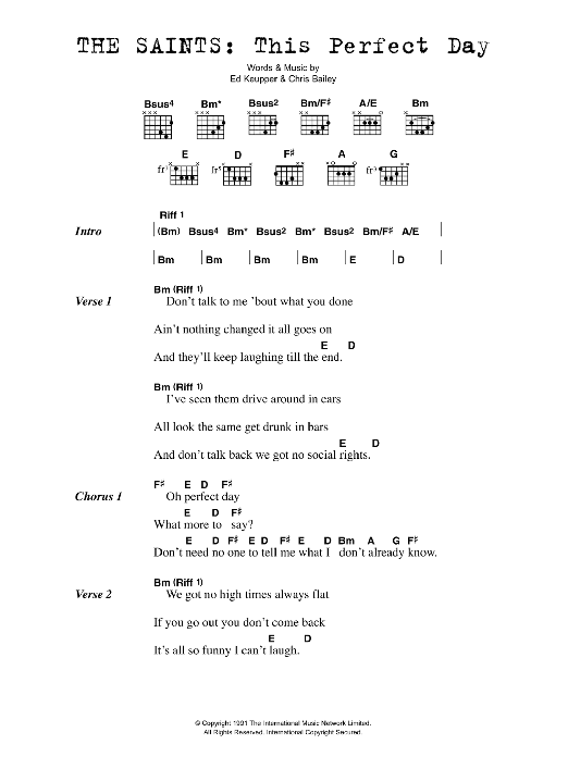 Night And Day Mother S Cake Guitar Tab